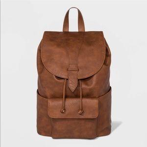 NWT flap backpack